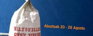 cartel para la semana grande de bilbao 2005