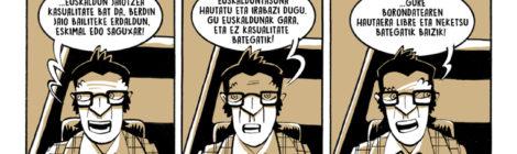 """Gabriel Aresti"" BioGrafikoa komikia"